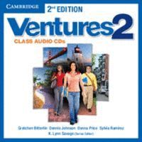 VENTURES LEVEL 2 CLASS AUDIO CDS (2) 2ND EDITION