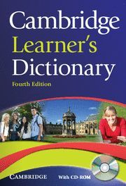 CAMBRIDGE LEARNER´S DICTIONARY WITH CD-ROM 4TH EDITION