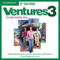 VENTURES LEVEL 3 CLASS AUDIO CDS (2) 2ND EDITION