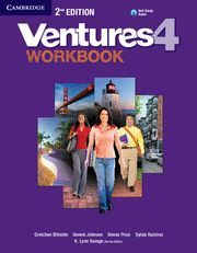 VENTURES LEVEL 4 WORKBOOK WITH AUDIO CD 2ND EDITION