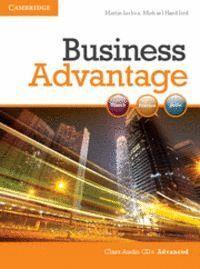 BUSINESS ADVANTAGE ADVANCED AUDIO CDS (2)