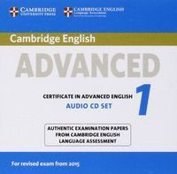 CAMBRIDGE CERT.ADVANCED ENG.REVISED 1 CD 15