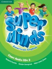 SUPER MINDS AMERICAN ENGLISH LEVEL 2 CLASS AUDIO CDS (3)