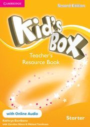 KID´S BOX STARTER TEACHER´S RESOURCE BOOK WITH ONLINE AUDIO 2ND EDITION