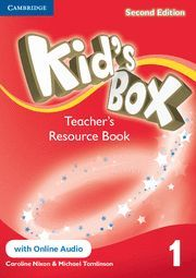 KID´S BOX LEVEL 1 TEACHER´S RESOURCE BOOK WITH ONLINE AUDIO 2ND EDITION