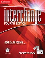 INTERCHANGE LEVEL 1 STUDENT´S BOOK B WITH SELF-STUDY DVD-ROM 4TH EDITION