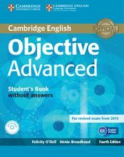 OBJECTIVE ADVANCED STUDENT'S BOOK WITHOUT ANSWERS WITH CD-ROM 4TH EDITION