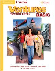 VENTURES BASIC TEACHER'S EDITION WITH ASSESSMENT AUDIO CD/CD-ROM 2ND EDITION