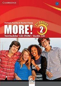 MORE! LEVEL 2 TESTBUILDER CD-ROM/AUDIO CD 2ND EDITION