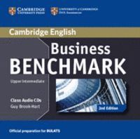 BUSINESS BENCHMARK UPPER INTERMEDIATE BULATS CLASS AUDIO CDS (2) 2ND EDITION