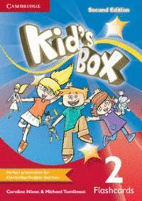 KID´S BOX LEVEL 2 FLASHCARDS (PACK OF 103) 2ND EDITION