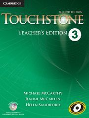 TOUCHSTONE LEVEL 3 TEACHER´S EDITION WITH ASSESSMENT AUDIO CD/CD-ROM 2ND EDITION