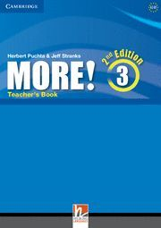 MORE! LEVEL 3 TEACHER'S BOOK 2ND EDITION