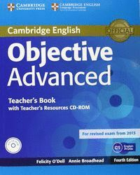 OBJECTIVE ADVANCED CERTIFICATE RESOURCES+CD+CDROM