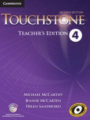 TOUCHSTONE LEVEL 4 TEACHER'S EDITION WITH ASSESSMENT AUDIO CD/CD-ROM 2ND EDITION