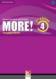 MORE! LEVEL 4 TEACHER'S BOOK 2ND EDITION