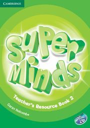 SUPER MINDS LEVEL 2 TEACHER´S RESOURCE BOOK WITH AUDIO CD