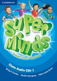 SUPER MINDS AMERICAN ENGLISH LEVEL 1 CLASS AUDIO CDS (3)