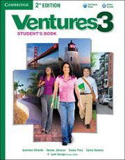 VENTURES LEVEL 3 STUDENT'S BOOK WITH AUDIO CD 2ND EDITION