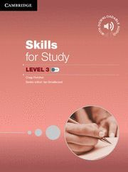 SKILLS FOR STUDY LEVEL 3 STUDENT'S BOOK WITH DOWNLOADABLE AUDIO