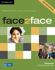 FACE2FACE ADVANCED WORKBOOK WITH KEY 2ND EDITION