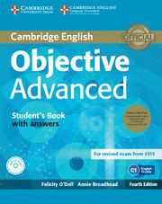 OBJECTIVE ADVANCED STUDENT'S BOOK PACK (STUDENT'S BOOK WITH ANSWERS WITH CD-ROM AND CLASS AUDIO CDS (2)) 4TH EDITION