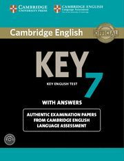 CAMBRIDGE ENGLISH KEY 7 STUDENT´S BOOK PACK (STUDENT´S BOOK WITH ANSWERS AND AUDIO CD)