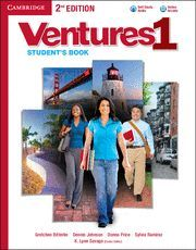 VENTURES LEVEL 1 STUDENT´S BOOK WITH AUDIO CD 2ND EDITION