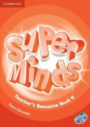 SUPER MINDS LEVEL 4 TEACHER´S RESOURCE BOOK WITH AUDIO CD