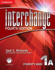 INTERCHANGE LEVEL 1 STUDENT´S BOOK A WITH SELF-STUDY DVD-ROM 4TH EDITION