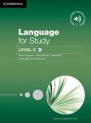 LANGUAGE FOR STUDY LEVEL 2 STUDENT´S BOOK WITH DOWNLOADABLE AUDIO