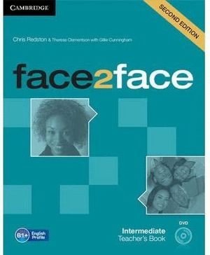 FACE2FACE INTERMEDIATE TEACHER´S BOOK WITH DVD 2ND EDITION