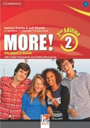 MORE! LEVEL 2 STUDENT'S BOOK WITH CYBER HOMEWORK AND ONLINE RESOURCES 2ND EDITION