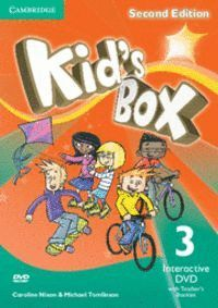 KID´S BOX LEVEL 3 INTERACTIVE DVD (NTSC) WITH TEACHER´S BOOKLET 2ND EDITION
