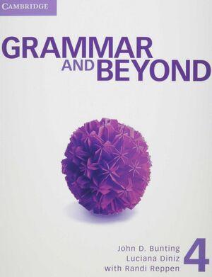 GRAMMAR AND BEYOND 4 ST/ONLINE WB/WRT SKILL IINTER PK