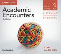 ACADEMIC ENCOUNTERS LEVEL 3 CLASS AUDIO CDS (3) LISTENING AND SPEAKING 2ND EDITION