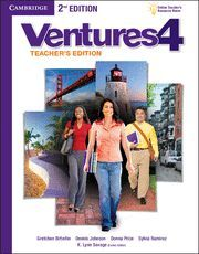 VENTURES LEVEL 4 TEACHER'S EDITION WITH ASSESSMENT AUDIO CD/CD-ROM 2ND EDITION