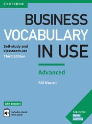 BUSINESS VOCABULARY IN USE ADVANCED WITH ANSWERS & ENHANCED EBOOK