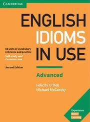 ENGLISH IDIOMS IN USE ADVANCED BOOK WITH ANSWERS 2ND EDITION