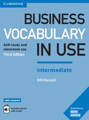BUSINESS VOCABULARY IN USE INTERMEDIATE WITH ANSWERS ENHANCED EBO