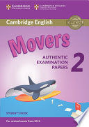 MOVERS 2 STUDENT´S BOOK (2018 EXAM)