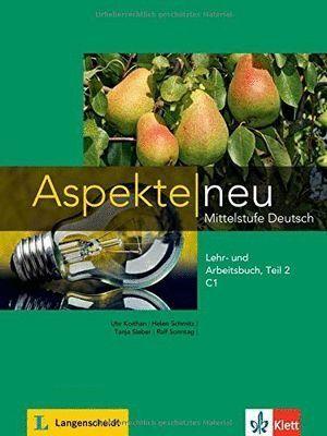 ASPEKTE NEU C1, LIBRO DEL ALUMNO Y LIBRO DE EJERCICIOS, PARTE 2 + CD
