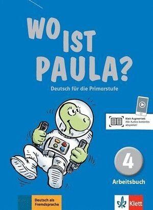 WO IST PAULA? 4, LIBRO DE EJERCICIOS