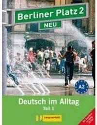 BERLINER PLATZ 2 NEU, LIBRO DEL ALUMNO Y LIBRO DE EJERCICIOS, PARTE 1 + CD