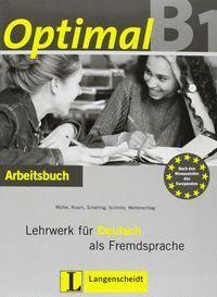 OPTIMAL B1 EJER+CD LEHRWER FÜR DEUTSCH ALS FREMDSPRACHE