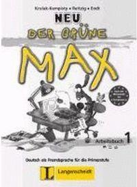 DER GRÜNE MAX 1 NEU, LIBRO DE EJERCICIOS + CD