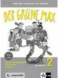 DER GRÜNE MAX 2. ARBEITSBUCH MIT AUDIO-CD