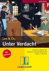 UNTER VERDACHT+CD   LEKT2 STUFE 2 (AB A2)