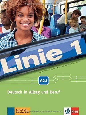 LINIE 1 A2.1, LIBRO DEL ALUMNO Y LIBRO DE EJERCICIOS + DVD-ROM