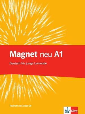 MAGNET NEU A1 TESTHEFT+CD DEUTSCH FUR JUNGE LERNENDE